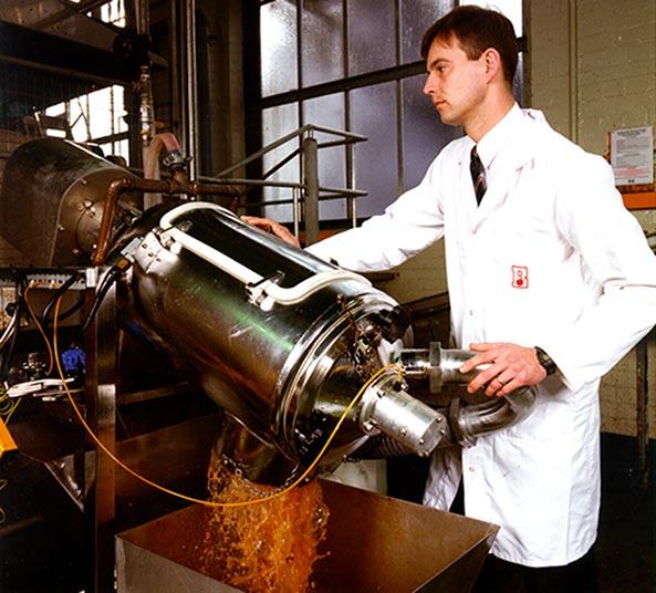 Liquid Solid Separator určený ke zpracování vedlejších produktů etanolu